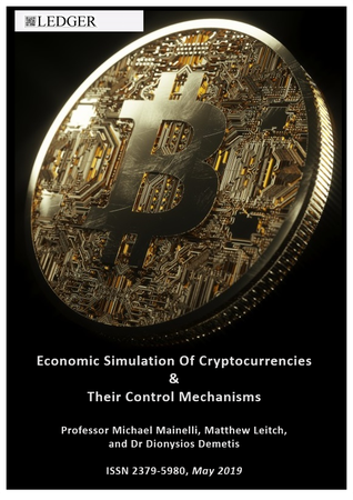 Ledger Cover - Economic Simulation Of Cryptocurrencies 2019.png
